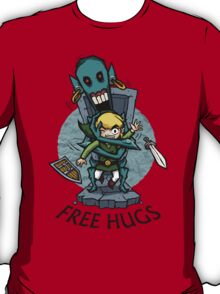 Legend of Zelda Wind Waker FREE HUGS T-Shirt T-Shirt