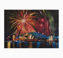 Sydney Silvester Fireworks At New Year T-Shirt