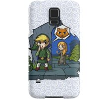 Legend of Zelda Wind Waker Meow T-Shirt Samsung Galaxy Case/Skin