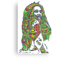 Rasta Vibrations Canvas Print