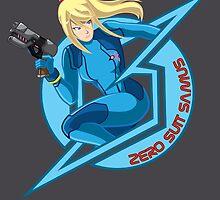 Zero Suit Samus by Kiro13