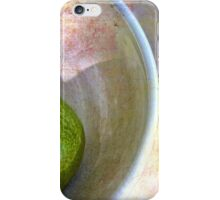 Pear in an Old Pottery Bowl iPhone Case/Skin