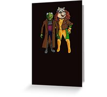 Good Grief, X-Muppets Greeting Card