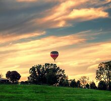 Up Up And Away by James Brotherton