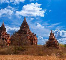 Bagan Pagodas2, Burma. by bulljup