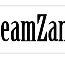 Team Zankie Sticker