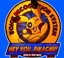 HEY YOU, PIKACHU! VOICE RECOGNITION SYSTEM  by Iris-sempi