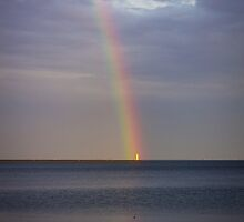The Lighthouse at the End of the Rainbow by Mikell Herrick