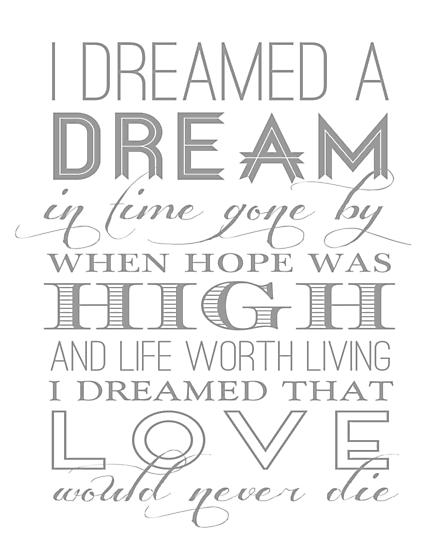 I Dreamed a Dream by themoderngeek