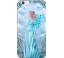 Aquamarine Birthstone Fairy iPhone Case/Skin