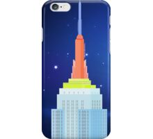 Empire State Building New York Illustration iPhone Case/Skin