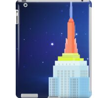 Empire State Building New York Illustration iPad Case/Skin