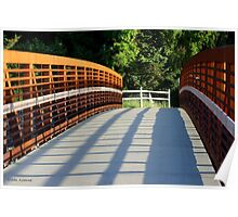 Sunken Meadow  Bridge Poster