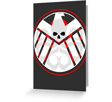 Hail Shield Greeting Card