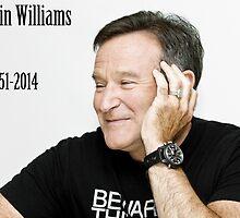 RIP Robin Williams  by bandspizza