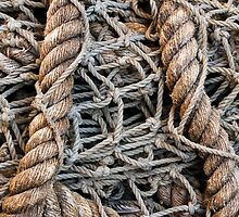 Rope Fishing Net by Kenneth Keifer