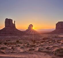 Monument Valley Sunrise by Graham Gilmore
