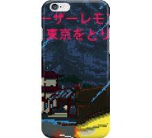 Lazer Lemon: Takes Tokyo iPhone Case/Skin