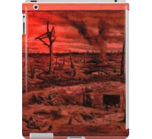 A digital painting of No Man's Land, World War 1 iPad Case/Skin