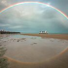 Rainbows & Reflections - Hervey Bay Qld Australia by Beth  Wode