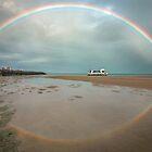 Rainbows & Reflections - Hervey Bay Qld Australia by Beth  Wode
