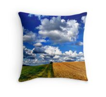 Harvest Time, Northern Ireland Throw Pillow