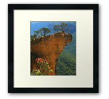Hanging Rock at Blackheath Framed Print