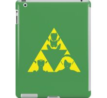 The Legend of Zelda - The three sides of the Triforce by AronGilli iPad Case/Skin