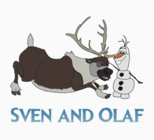 Sven and Olaf Kids Clothes
