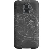 San Jose, USA Map. (White on black) Samsung Galaxy Case/Skin