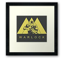 Destiny - Warlock by AronGilli Framed Print