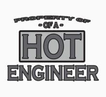 Property of a Hot ENGINEER Tees by redbuble2014