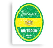 World Cup Football - Australia (distressed) Canvas Print