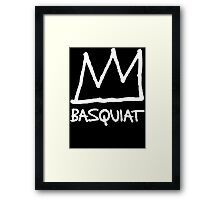 Basquiat Crown Framed Print