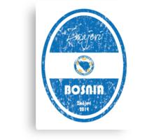 World Cup Football - Bosnia and Herzegovina Canvas Print