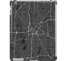 Minneapolis, USA Map. (White on black) iPad Case/Skin