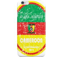 World Cup Football - Cameroon iPhone Case/Skin
