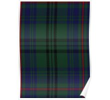 00010 Walker Hunting Clan/Family Tartan  Poster