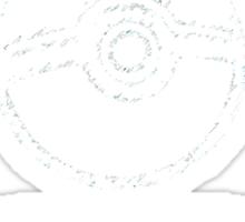 University of Johto - White Font Sticker