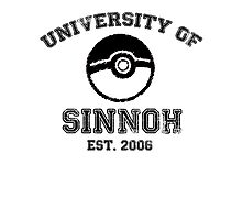 University of Sinnoh Photographic Print