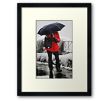 The Red Coat Framed Print