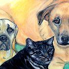 Our Favourite Pets by Mariaan M Krog Fine Art Portfolio
