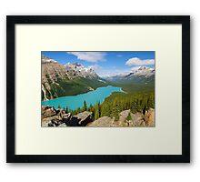 Peyto Lake Framed Print