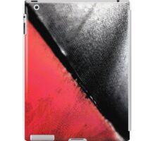 Black vs. Red iPad Case/Skin