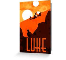 Luke - Son of the Chosen One Greeting Card