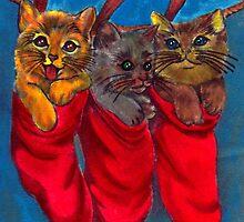 Christmas Card ~ Two by Mariaan M Krog Fine Art Portfolio