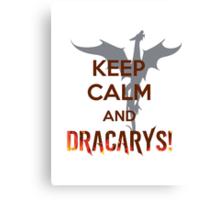 Dracarys (GOT) Canvas Print