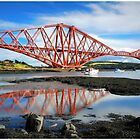 Iconic Forth Rail Bridge by This is Fife Scotland