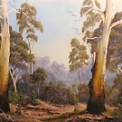The Scent Of Gumtrees In Australia by John Cocoris