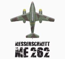 MESSERSCHMITT ME262 SCHWALBE by PARAJUMPER